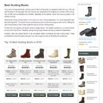 rumon-best hunting boots